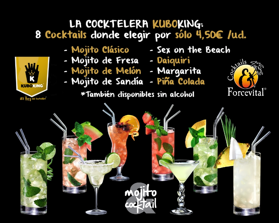 COCKTAILS FORCEVITAL EN KUBO KING